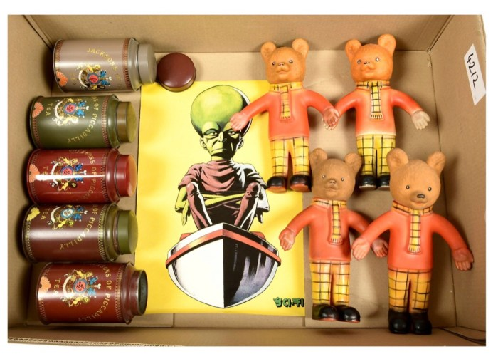Rupert Bears battle The Mekon in this lot!