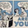 1960s Ballot Boost comic via Comics with Problems