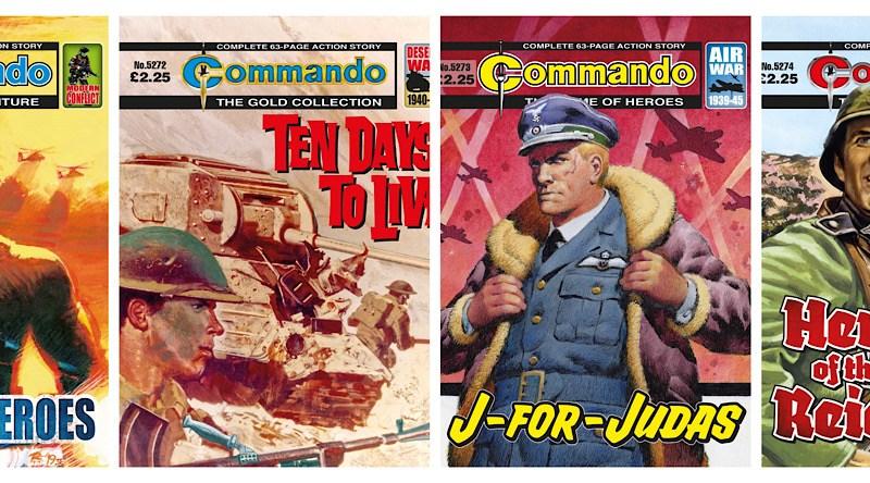 Commando Comics – back with a bang!