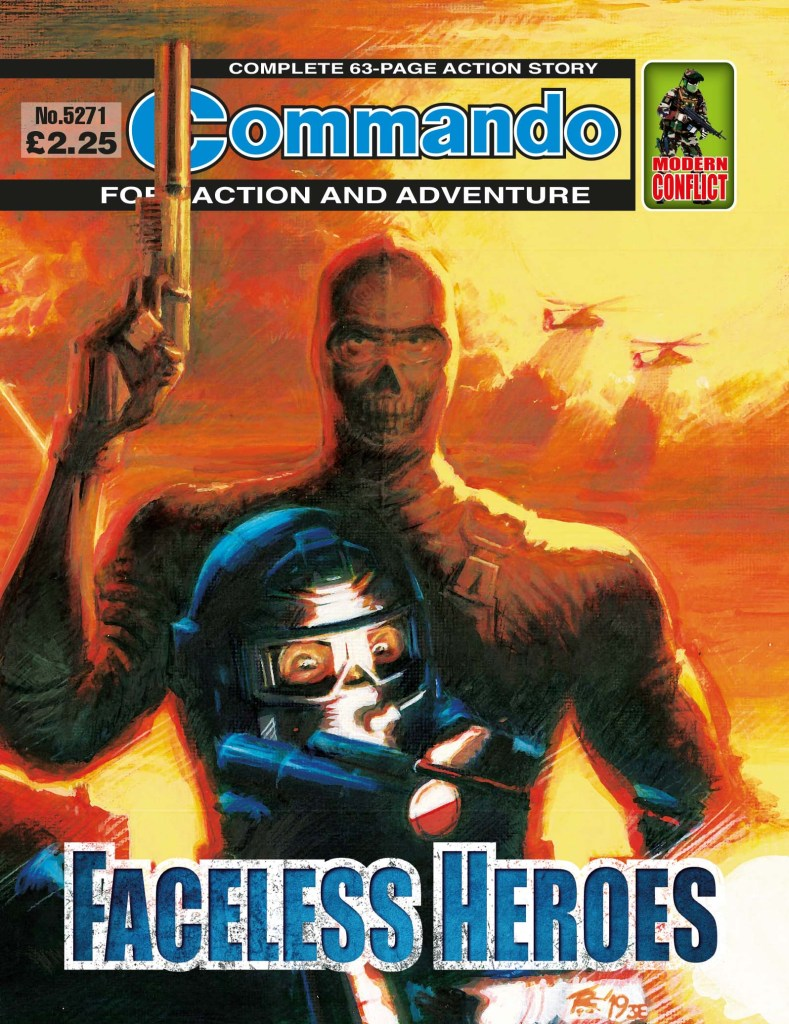 Commando 5271: Home of Heroes - Faceless Heroes
