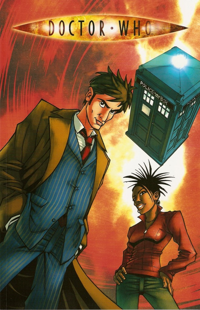 "One of Martha Jones first appearances in comics was in ""Agent Provocateur"", written by Gary Russell, with art by Nick Roche, published by IDW"