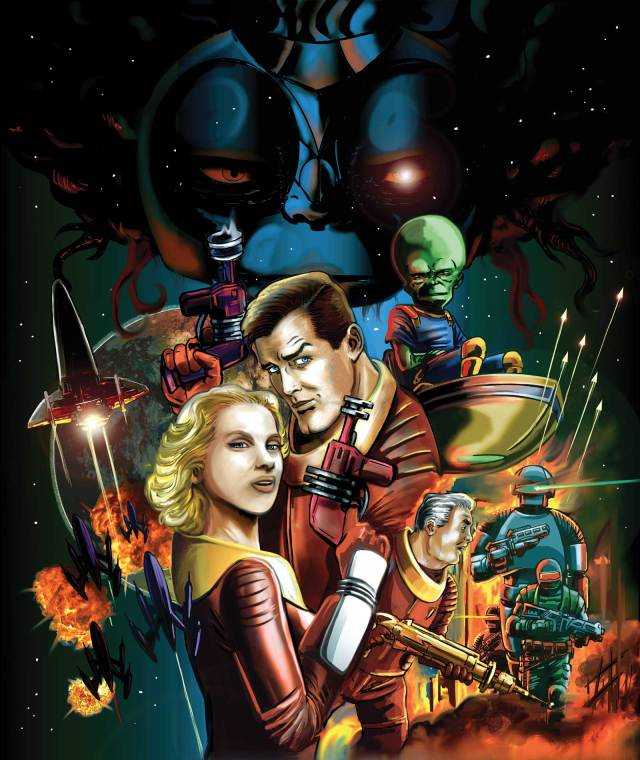 Dan Dare: The Audio Adventures Volume Three Art