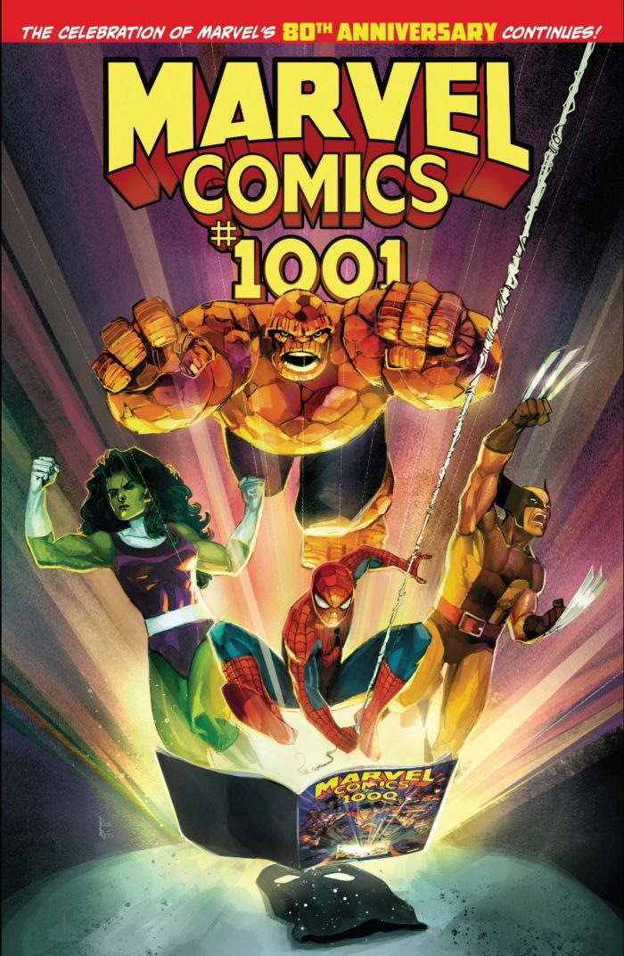 Marvel Comics #1001 - Cover