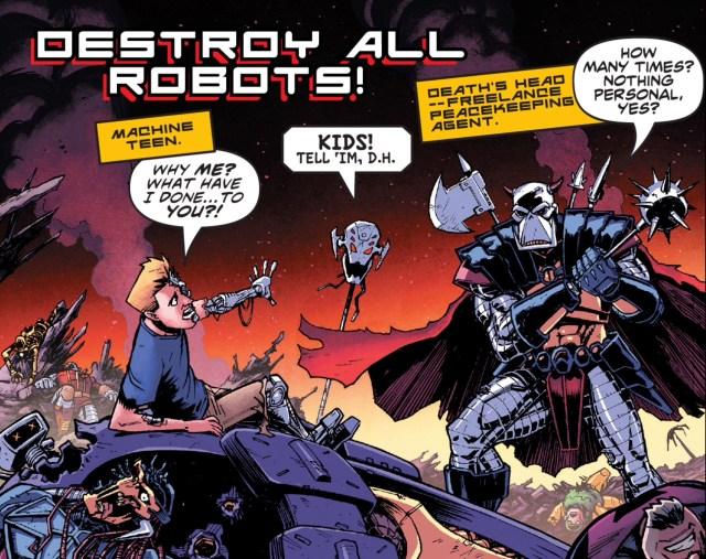 Marvel Comics #1001 - Death's Head