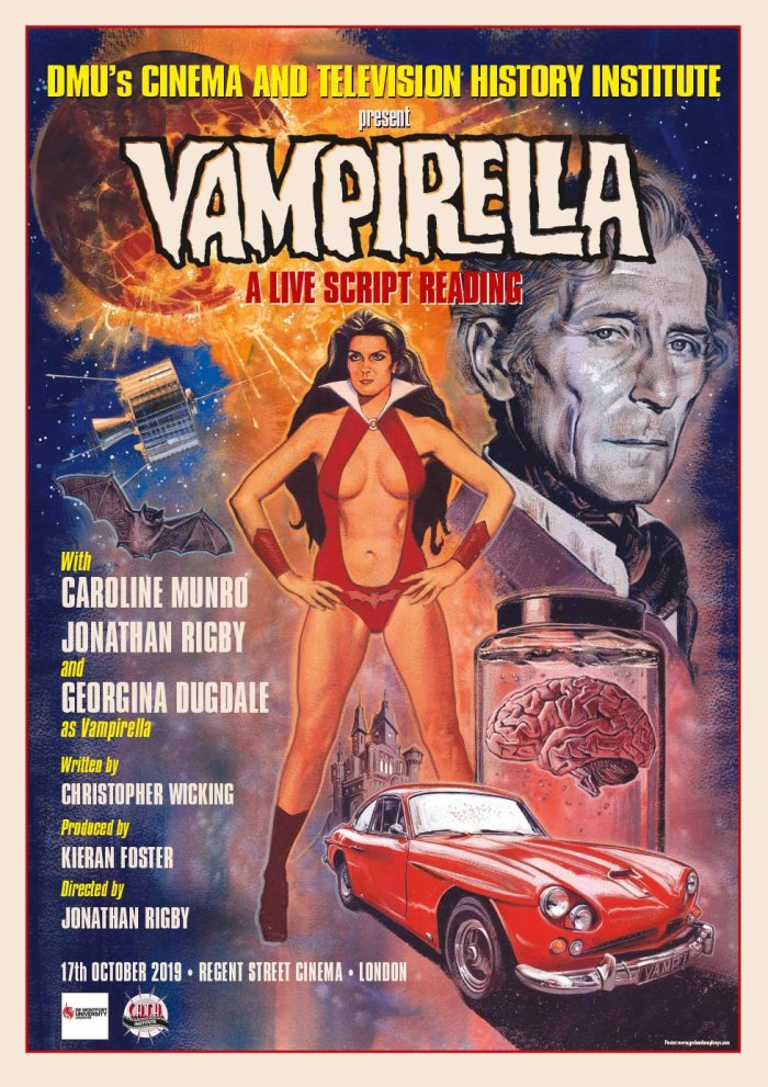 Vampirella Script Reading - 2019 - Poster by Graham Humphreys