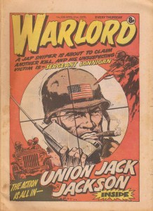 Warlord 239 Cover dated 23rd April 1979 - featuring Union Jack Jackson