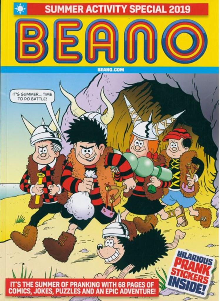 Beano Summer Activity Special 2019
