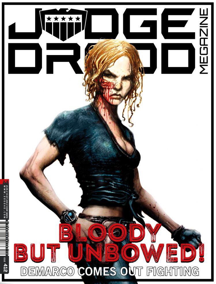 Judge Dredd Megazine Issue 412