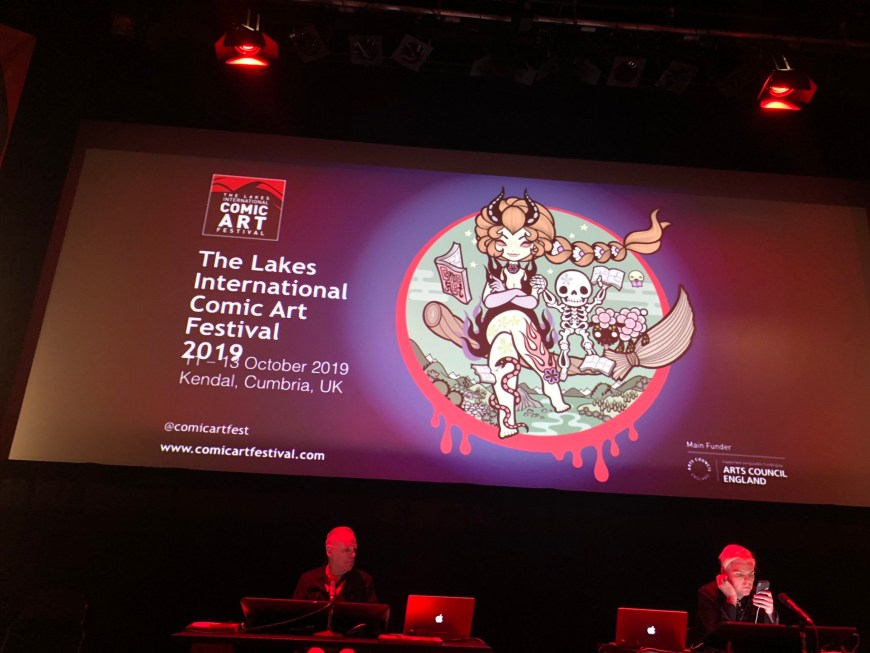 From the Trenches and in Pictures: The Lakes International Comic Art Festival 2019