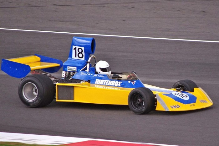 1974 Surtees TS16 at Silverstone Classic in 2011