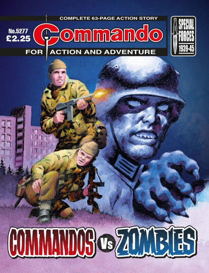 Commando 5277: Action and Adventure - Commandos Vs Zombies
