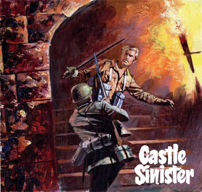 Commando 5276: Gold Collection - Castle Sinister - Promo Art