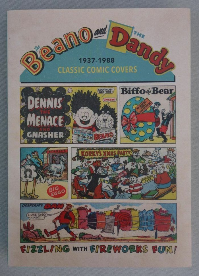 Beano and The Dandy - Classic Comic Covers 1937-1988 - Cover