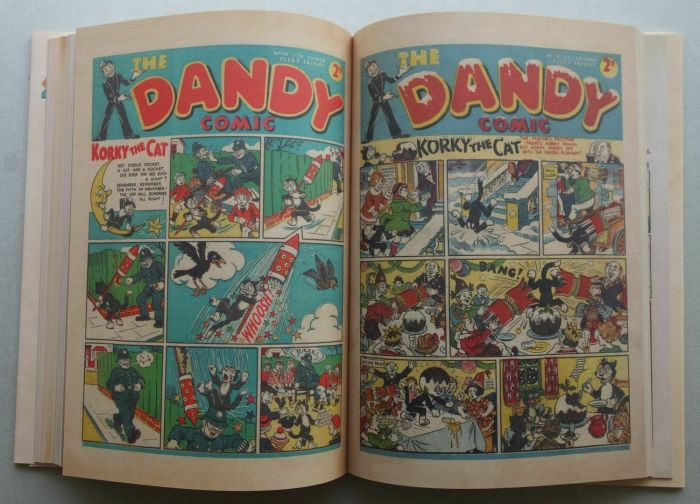 Beano and The Dandy - Classic Comic Covers 1937-1988 - Sample