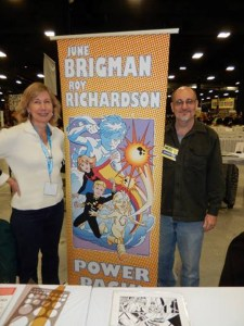 June Brigman and Roy Richardson