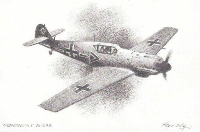 Ian Kennedy - Messerschmitt BF109E