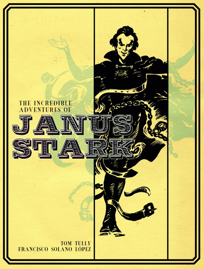 The Incredible Adventures of Janus Stark - Cover