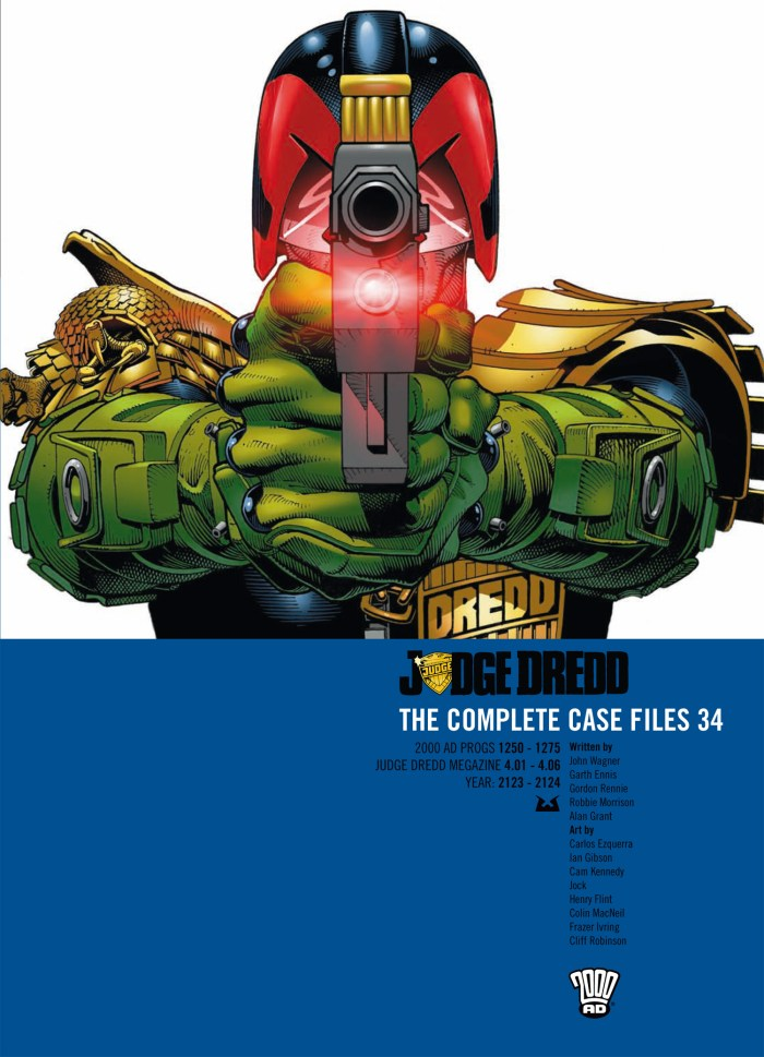 Judge Dredd: The Complete Case Files Volume 34