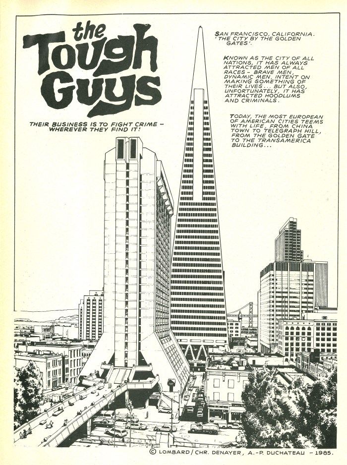 """The Tough Guys"", featured in Spidey Comic #651"