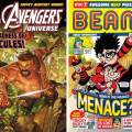 UK News Stand Comics Snap Shot - 1st November 2019