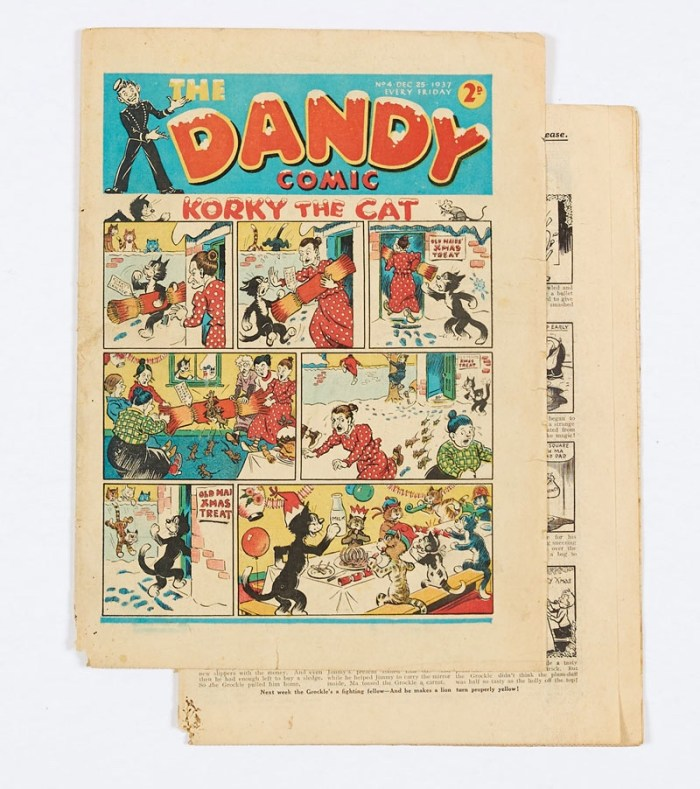 Dandy No 4 (Dec 25 1937) First Christmas issue