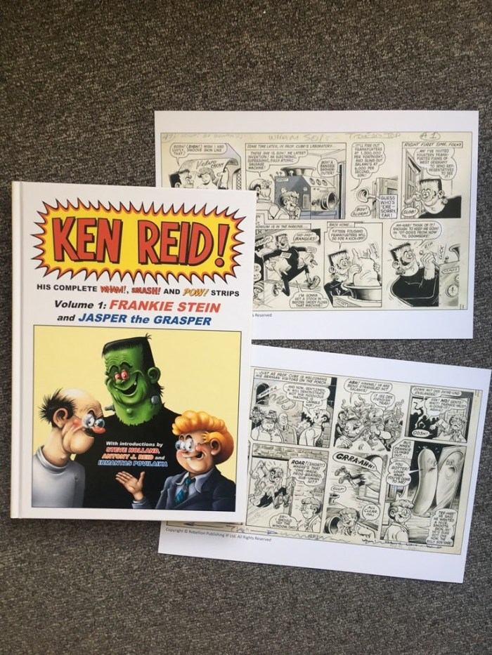 Power Pack of Ken Reid Prints