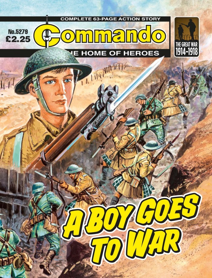 Commando 5279 - Home of Heroes: A Boy Goes To War