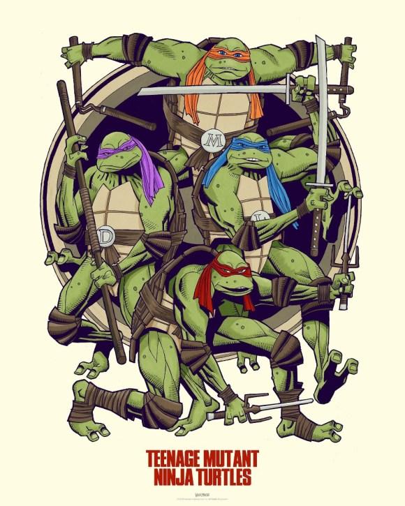 Teenage Mutant Ninja Turtles by Mick McMahon