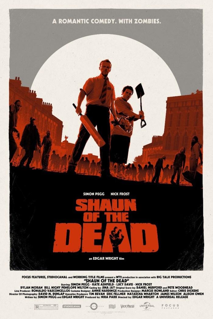 Vice Press Poster - Shaun of the Dead by Matt Ferguson