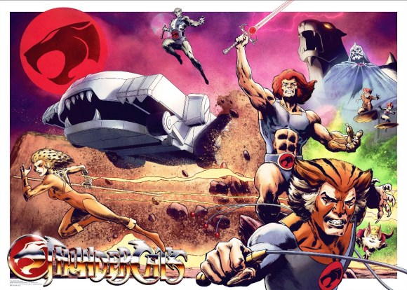Vice Press Poster - Thundercats by Henrik Sahlstrom