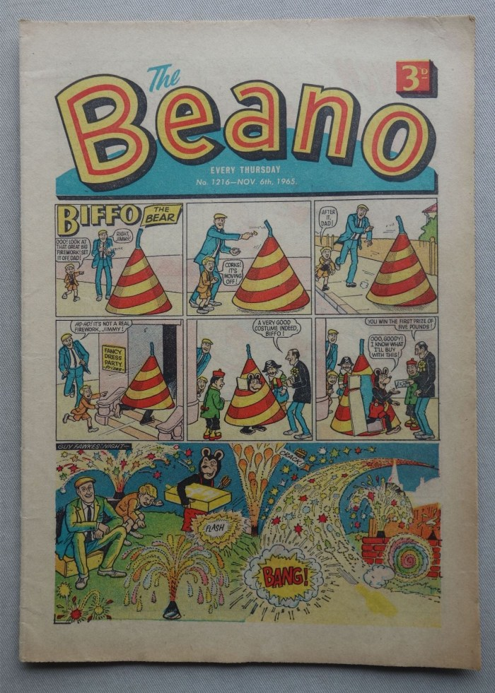 The Beano 1216 - cover dated 6th November 1965