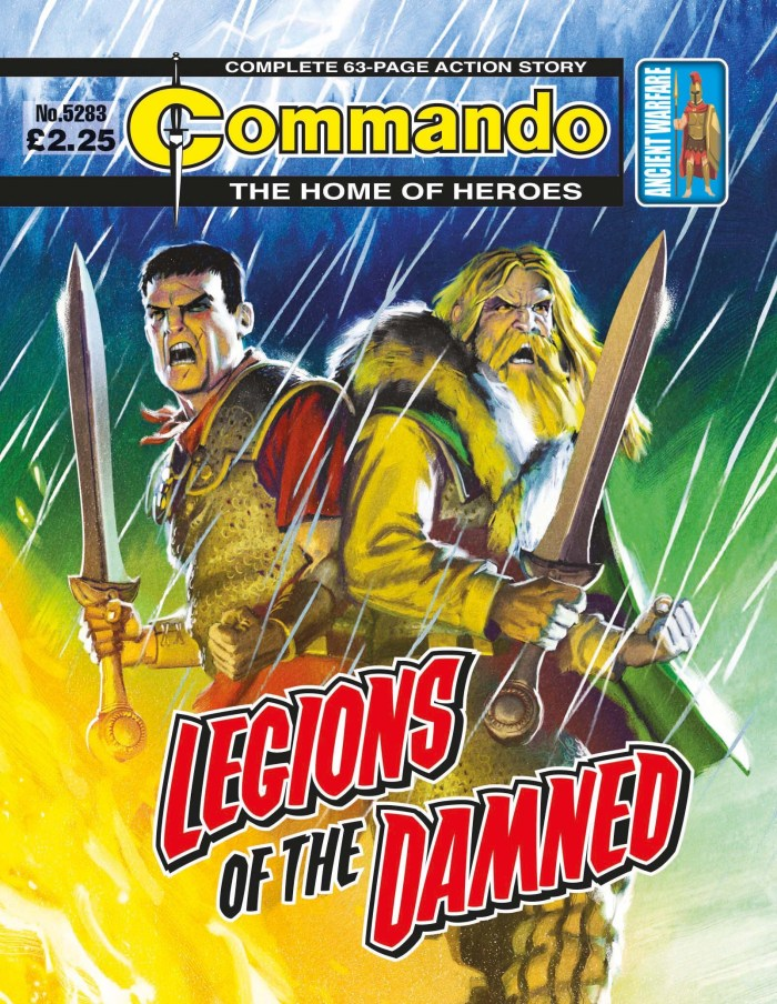 Commando 5283: Home of Heroes - Legions of the Damned