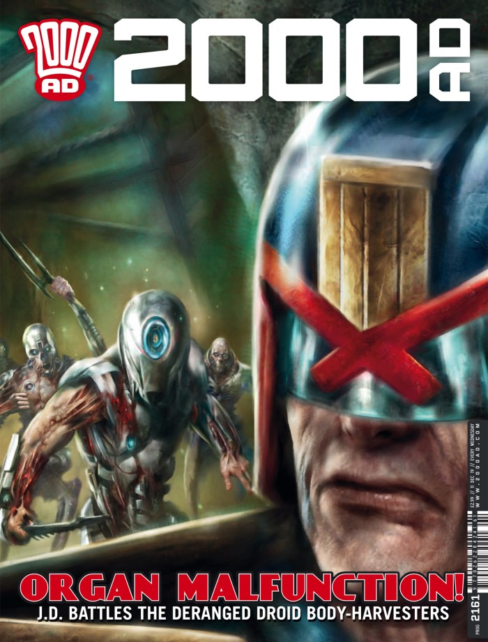 2000AD Prog 2161 - Cover by Nick Percival
