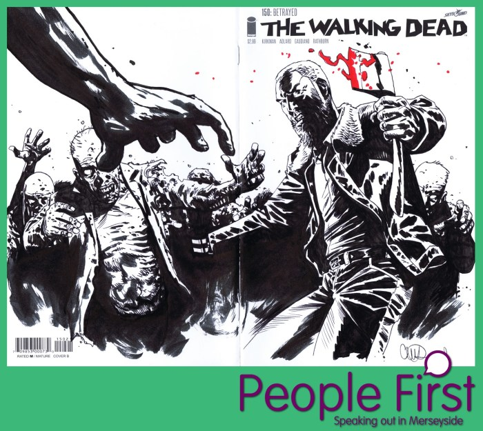 People First Merseyside Comic Art Charity Auction 2019 - Charlie Adlard