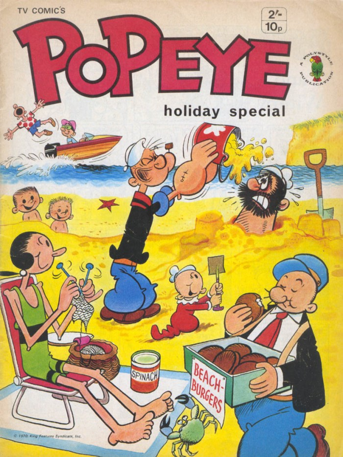 Popeye Holiday Special 1970