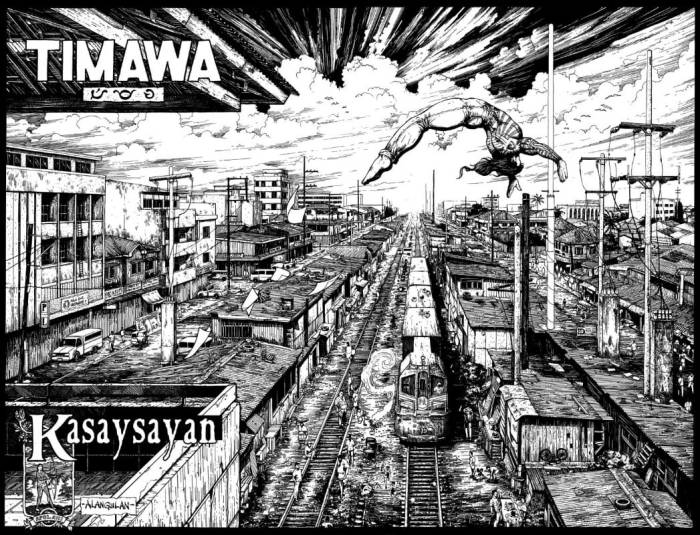 Timawa by Gerry Alanguilan