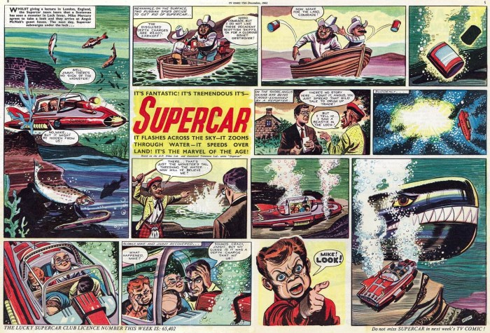 TV Comic: Supercar by Bill Mevin