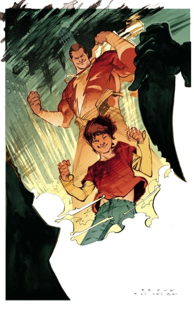 DC Comics character Shazam by Bruno Oliveira