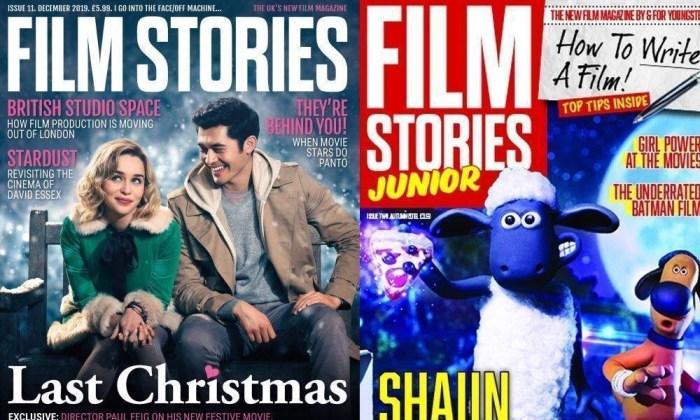 Film Stories #11 Cover and Film Stories Junior