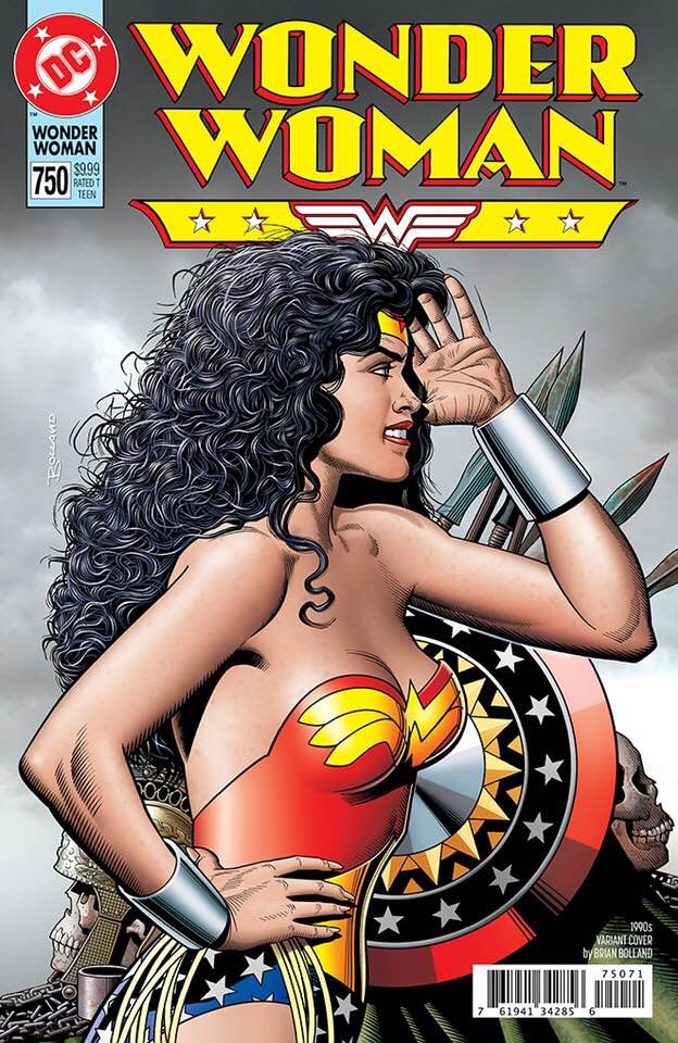 Wonder Woman cover by Brian Bolland