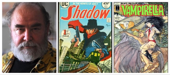 Michael Kaluta Cover Montage - with Michael Kaluta