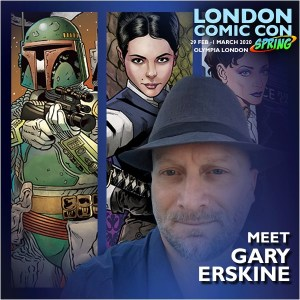 Gary Erskine - London Film and Comic Con Spring 2020