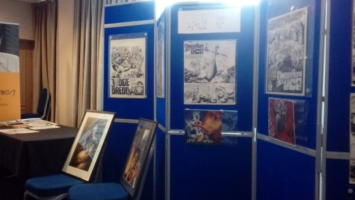 Just part of the Carlos Ezquerra Art Exhibition at Lawless 2019