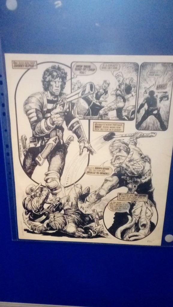 Lawless 2019 - Carlos Ezquerra Art Exhibition - Strontium Dog