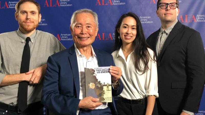"""George Takei's """"They Called Us Enemy"""" scoops Asian/Pacific American Award for Young Adult Literature"""