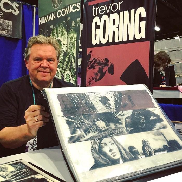 Trevor Goring at Wondercon in 2016. Courtesy Trevor Goring