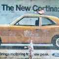 1970s Ford Cortina Poster - The New Cortina: Bringing Motoring to a New Peak