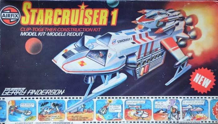 "Gerry Anderson's ""Starcruiser"" - Airfix Kit"