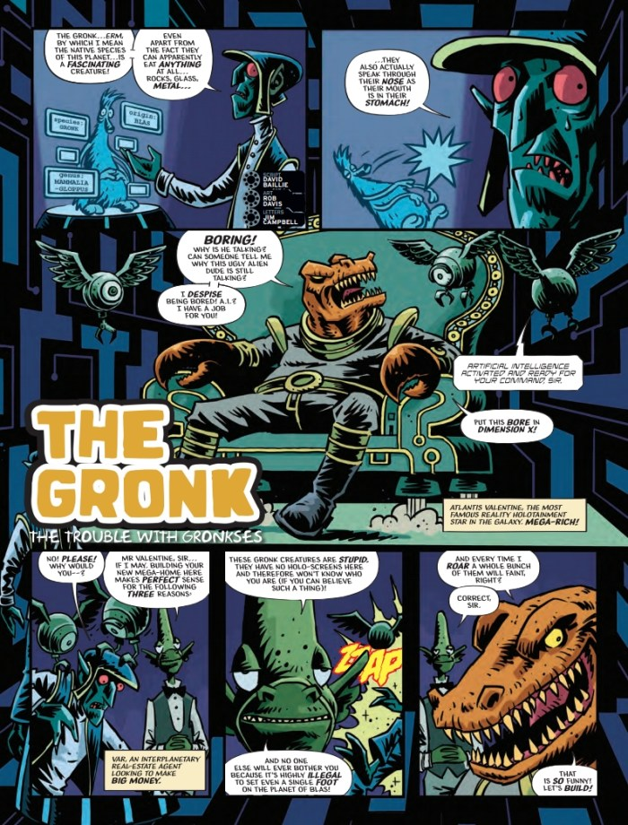 2000AD 2170 - The Gronk