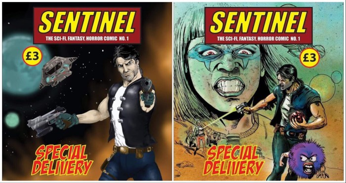 Sentinel Issue One - Cover Montage